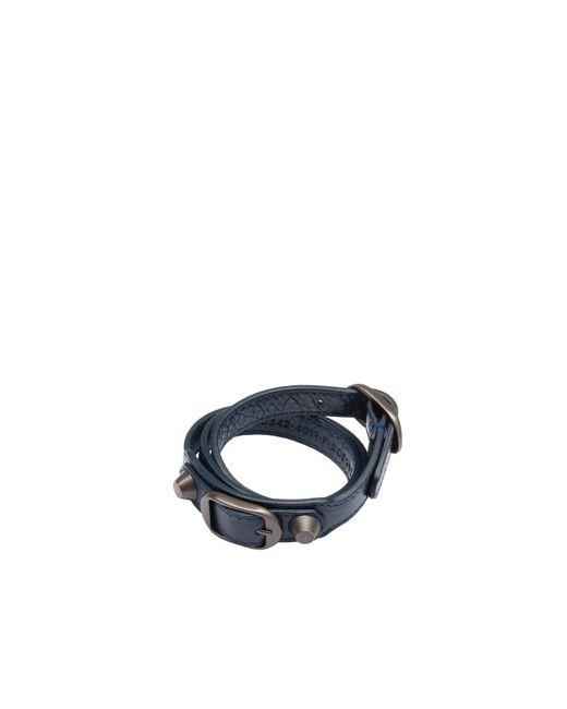 Balenciaga | Blue Classic Bracelet Triple Tour | Lyst