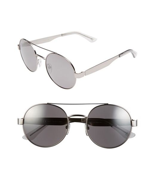 Oxydo | Metallic 53mm Retro Sunglasses | Lyst
