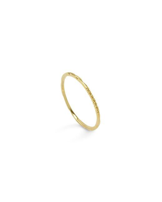 Lagos   Metallic 18k Green Gold Stacking Ring   Lyst