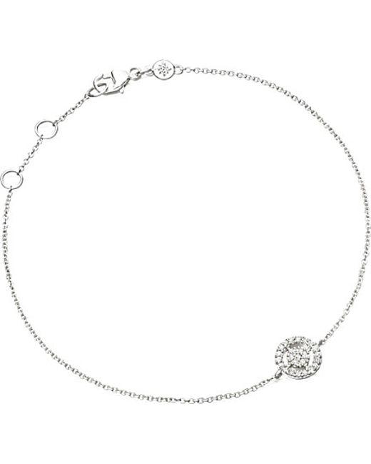 Astley Clarke | White Mini Icon Aura Bracelet | Lyst