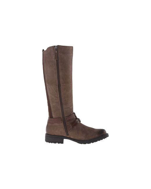 Earth   Brown Sierra Faux-Leather Knee-High Boots   Lyst