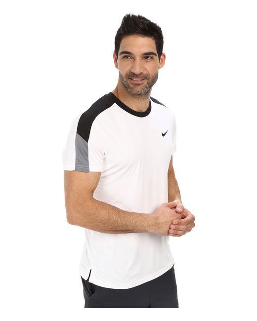 Nike   White Team Court Crew for Men   Lyst