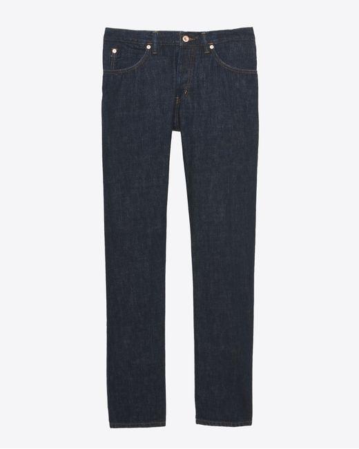Billy Reid | Blue Slim Jean for Men | Lyst