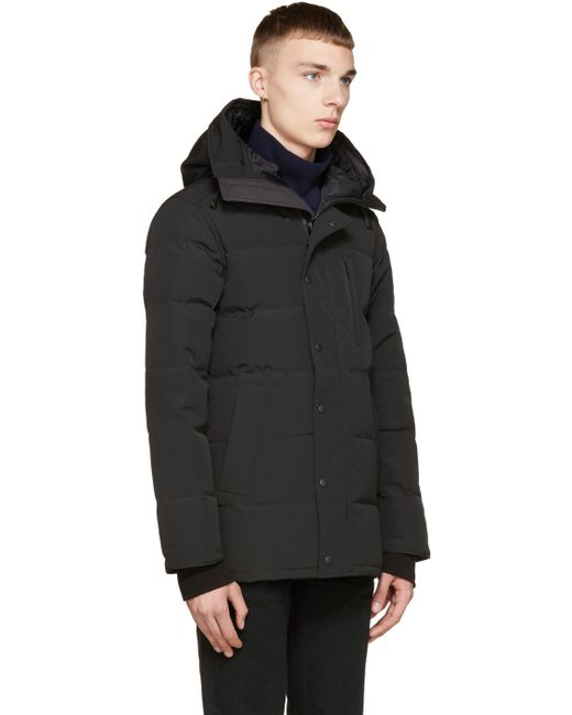 Canada Goose coats replica official - Canada goose Black Down & Fur Black Label Carson Parka in Black ...