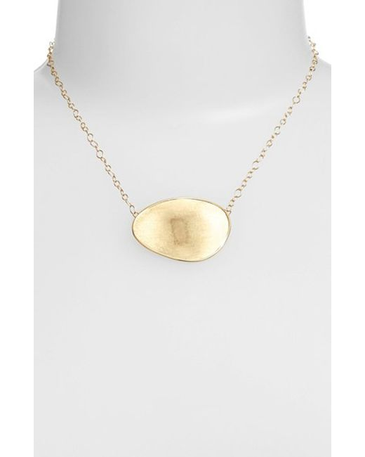 Marco Bicego | Yellow 'lunaria' Pendant Necklace | Lyst