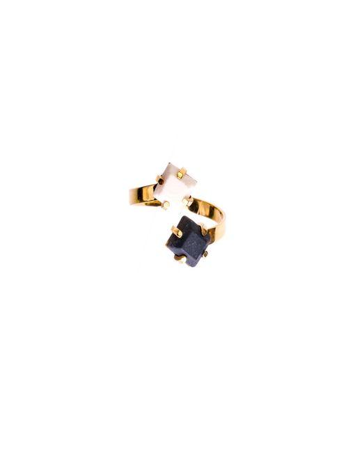 Dutch Basics | Blue Porcelain Adjustable Ring | Lyst