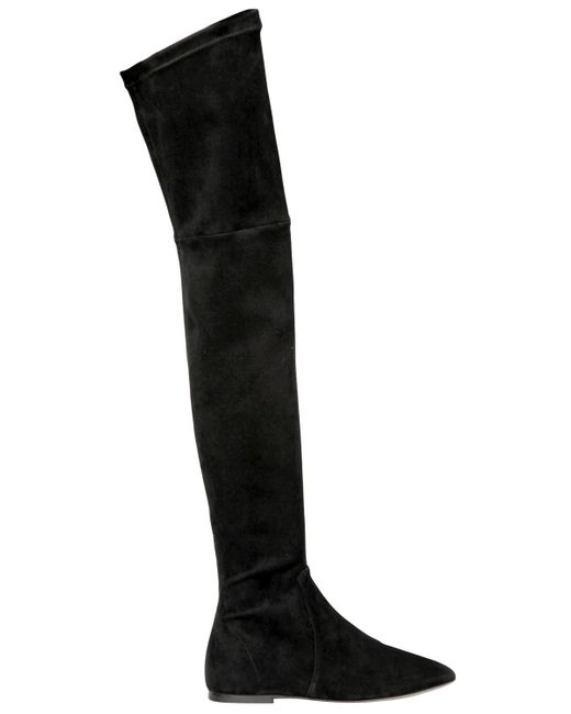 Isabel Marant | Black Brenna Suede Over-the-knee Boots | Lyst