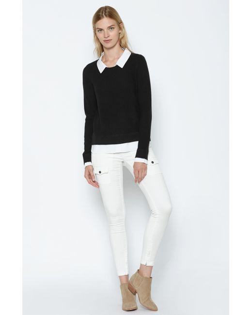 Joie | Black Rika Layered Sweater | Lyst