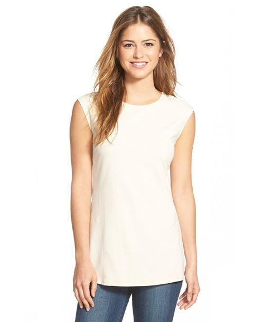 NIC+ZOE | White 'perfect Layer' Tank | Lyst
