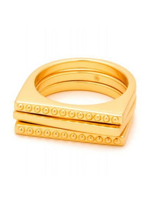 Gorjana | Metallic Bali Ring Set | Lyst