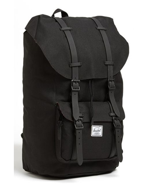 Herschel Supply Co. | Black 'little America' Backpack for Men | Lyst