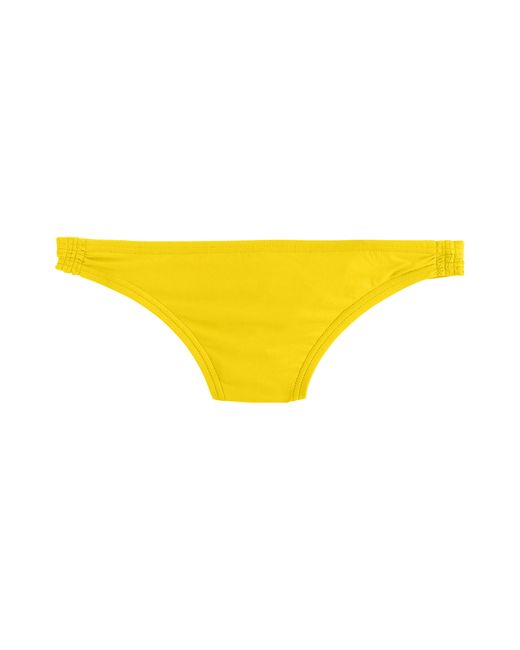 J.Crew | Yellow Gathered Hipster Bikini Bottom | Lyst