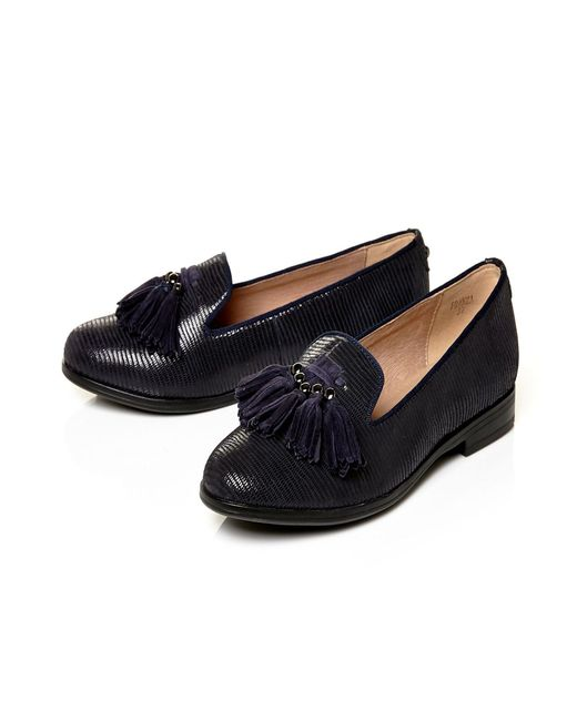Moda In Pelle | Blue Franza Low Smart Shoes | Lyst