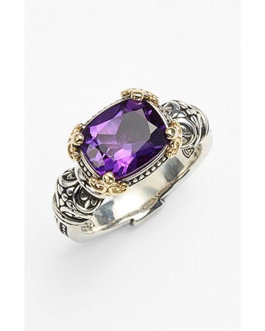 Konstantino | Metallic 'hermione' Stone Ring | Lyst
