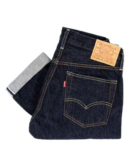 Levi's | Levis Vintage 501Z Xx 1954 Blue Selvedge Denim Jeans 50154-0033 for Men | Lyst