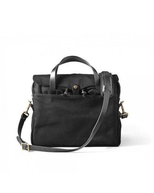Filson | Bags Original Black Briefcase 11070256 | Lyst