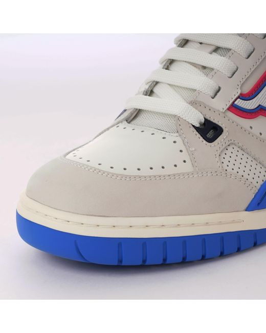 9ee36e6aa6fc ... Bally - Multicolor Champion Calf Leather Sneakers for Men - Lyst ...