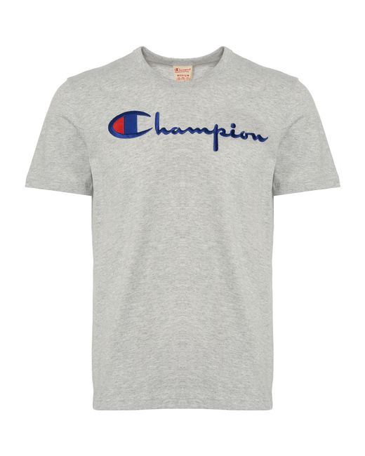 a9b10465 Champion - Multicolor Logo T-shirt for Men - Lyst ...