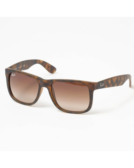 Ray-Ban - Justin Sunglasses - Brown Gradient Lenses - Lyst