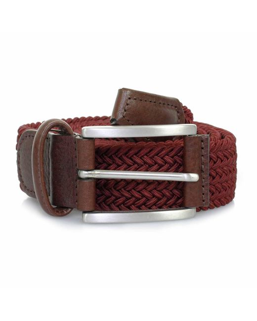 Andersons - Multicolor Anderson Belts Woven Burgundy Belt B0667 Af2949 D1 for Men - Lyst
