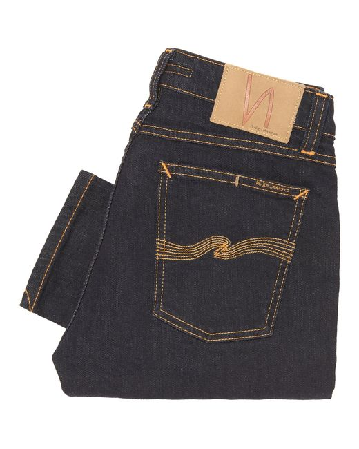 Nudie Jeans - Blue Skinny Lin Denim Jeans - Skinny Fit - Lyst