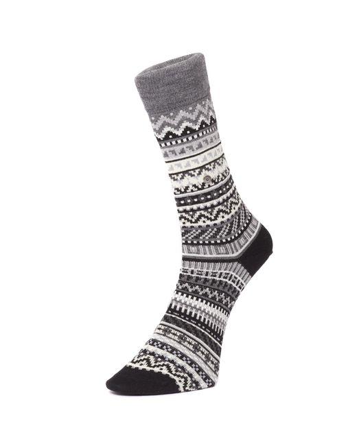 Burlington - Multicolor Fair Isle Socks - Lyst
