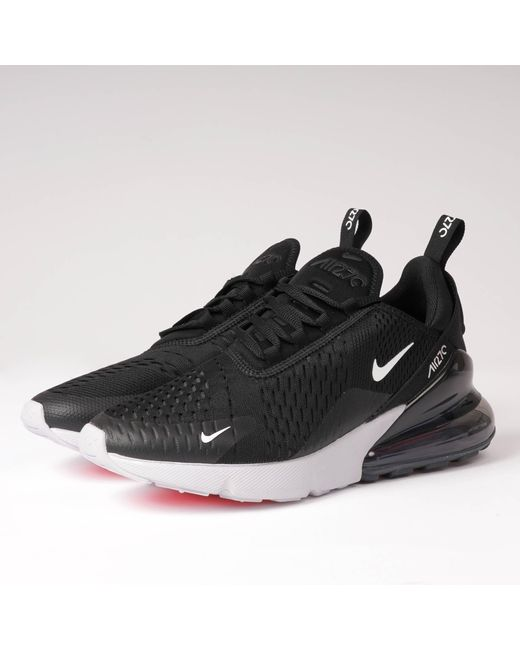 buy online d554b 617ee Nike - Black Air Max 270 for Men - Lyst ...
