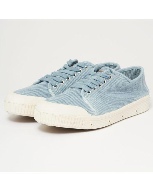 Spring Court - Vintage Heavy Twill G2 Trainer - Blue Wash for Men - Lyst
