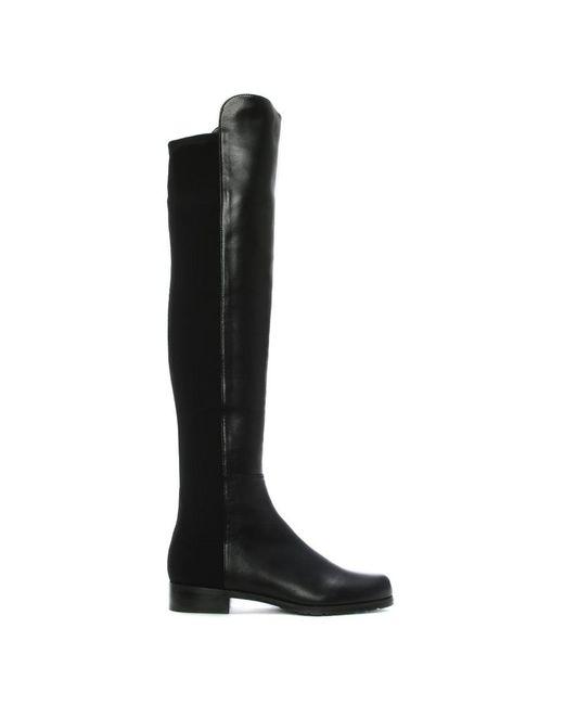 Stuart Weitzman - Black Thigh-length Boots - Lyst