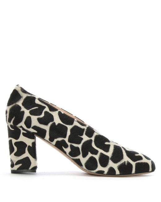 Daniel - Multicolor Aneso Zoo Calf Hair V Front Court Shoes - Lyst