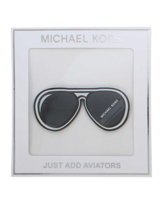 Michael Kors - Just Aviators Black Leather Bag Sticker - Lyst