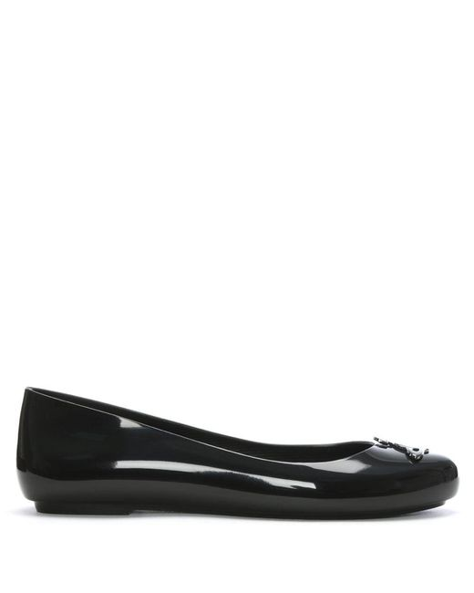 Vivienne Westwood | Space Love Black Orb Ballet Pump | Lyst