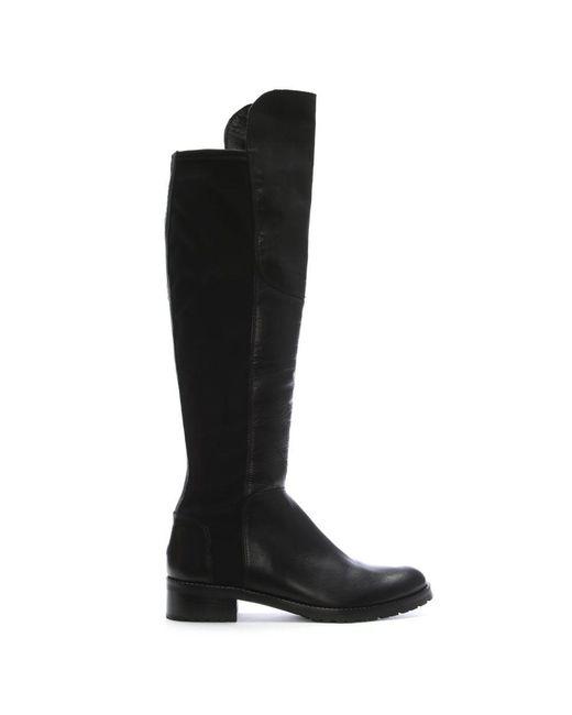 Kennel & schmenger Black 41 24160 Women'S Flat Knee Boot ...
