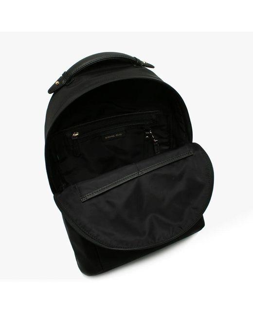 f9d2bd75a46a4 ... Michael Kors - Kelsey Black Nylon Backpack - Lyst ...