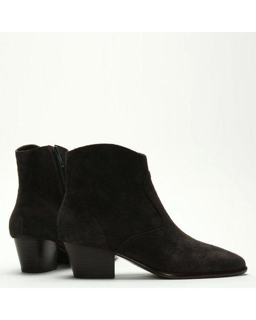 0d3341b0780 Women's Brown Heidi Bis Africa Suede Western Ankle Boots