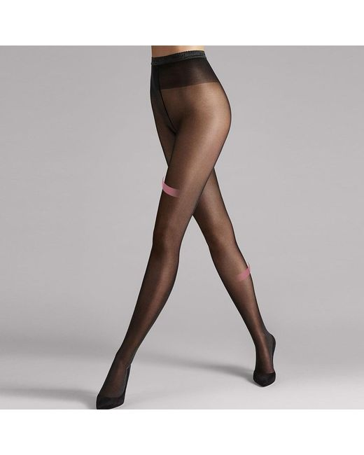 Wolford - Women'S Black Synergy 40 Support Tights - Lyst