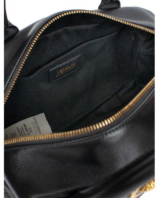 ... Versace - Black Quilted Satchel Bag - Lyst e190e00b48a9e