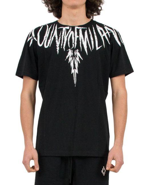 Marcelo Burlon - Black 'county Wing' T-shirt for Men - Lyst