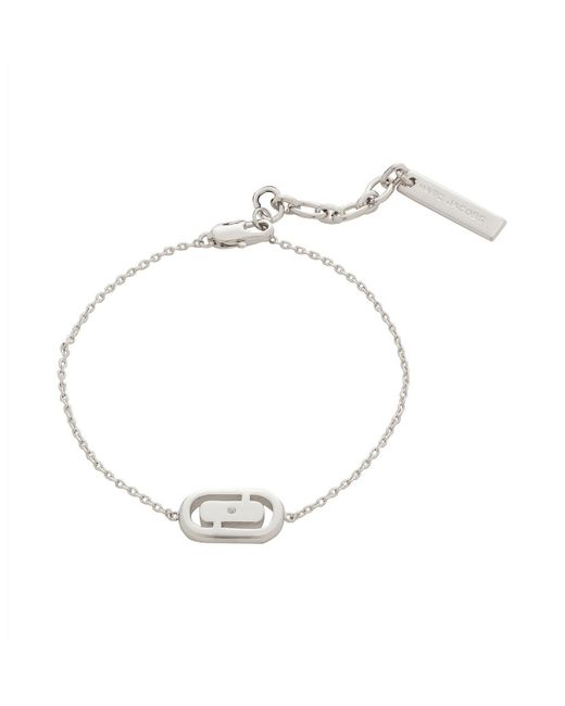 Marc By Marc Jacobs - Metallic Icon Cut Out Bracelet - Lyst