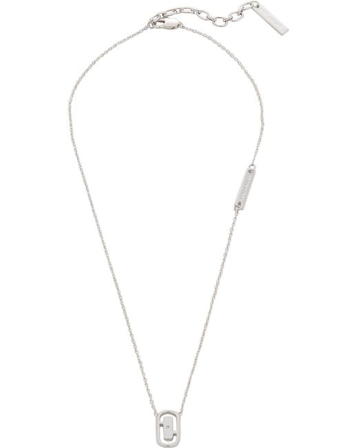 Marc By Marc Jacobs   Metallic Icon Cut Out Short Pendant   Lyst