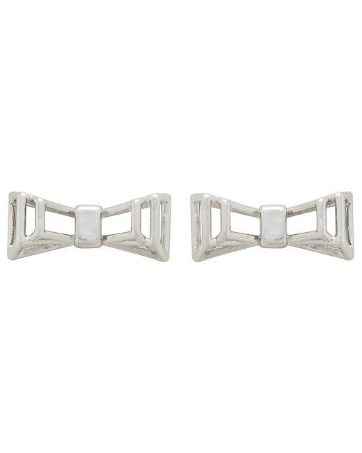 Ted Baker | Metallic Doli: Deco Bow Earring | Lyst