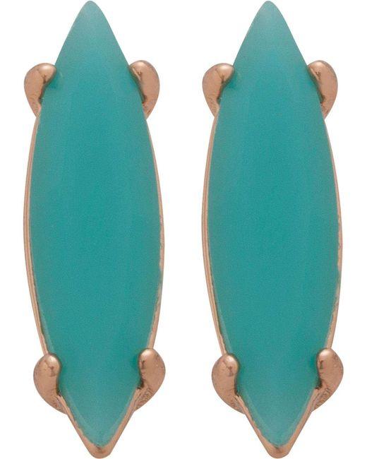 Rebecca Minkoff | Green Sparkler Stud Earring | Lyst