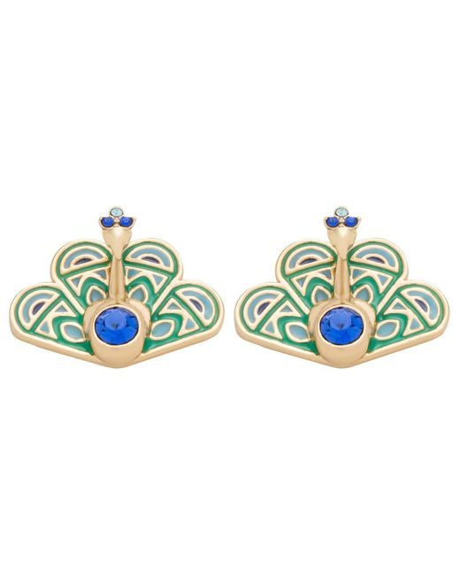Kate Spade   Blue Peacock Studs   Lyst