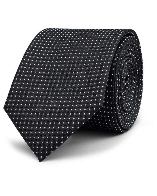 Politix   Black Dan Pattern Tie for Men   Lyst