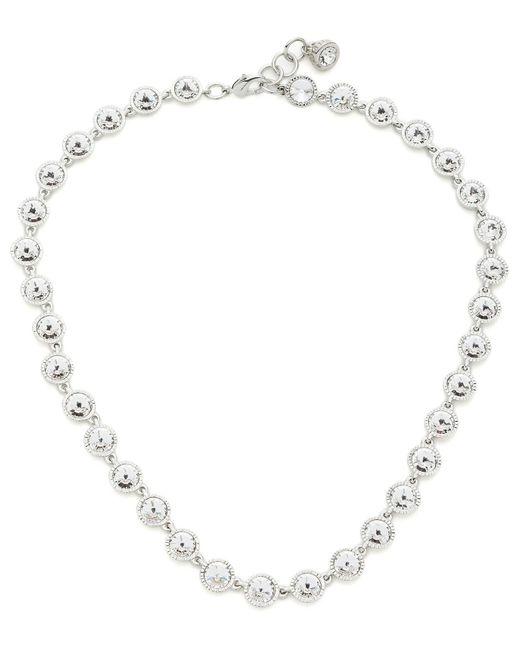 Ted Baker | Metallic Rosele: Rivoli Crystal Single Row Necklace | Lyst