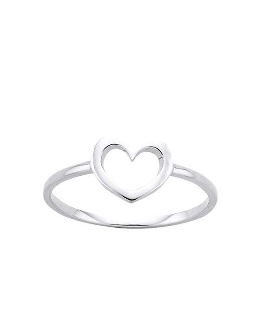 Karen Walker | Metallic Mini Heart Ring Med | Lyst
