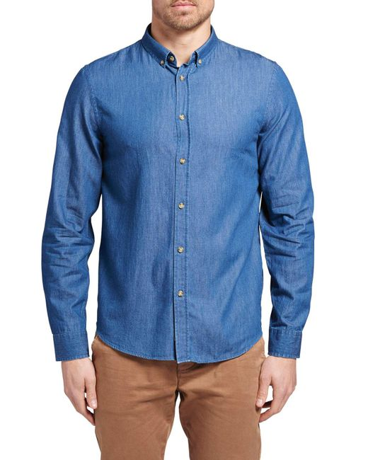 The Academy Brand | Blue Thomas Shirt for Men | Lyst