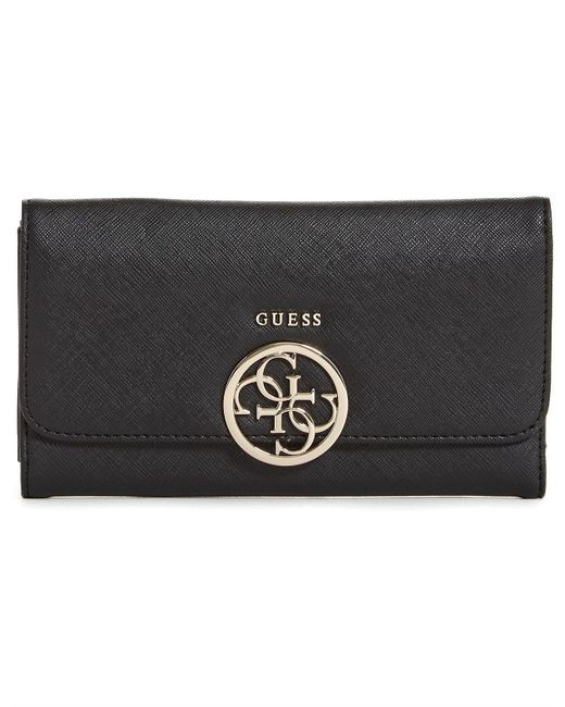 Guess - Black Kamryn Multi Clutch Wallet - Lyst