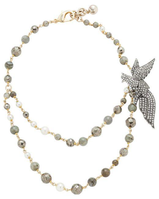 Lulu Frost | Metallic Canopy Necklace | Lyst