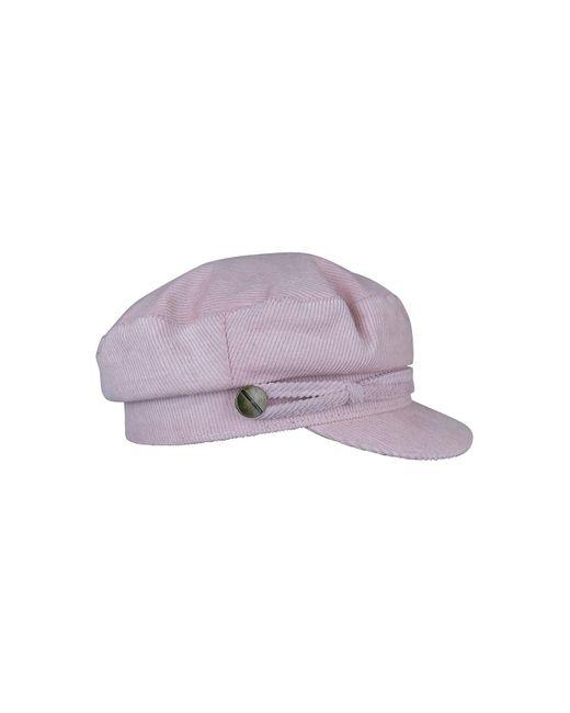 Ace of Something - Purple Cord Baker Boy Hat - Lyst
